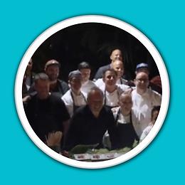 LA Chefs Unite Group Photo White Porthol