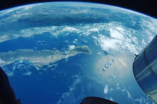 Baja California Sur from space. Photo by NASA.