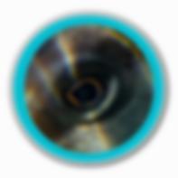 Baja Kanpachi Eye Blue Porthole White Ba
