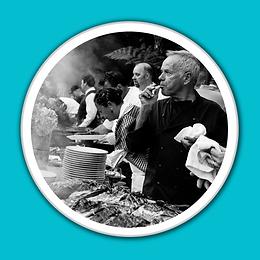 Chef Wolfgang Puck Tasting Baja Kanpachi