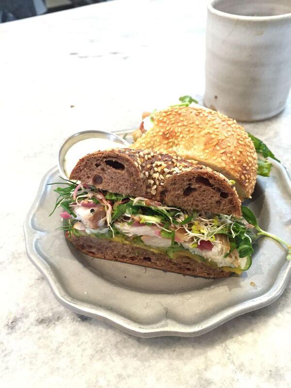 Omega Azul Baja Kanpachi Sandwich