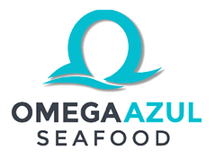 Omega Azul Seafood Partial 3D Logo Trans
