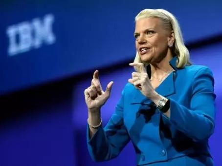 IBM Female Leader Rometty