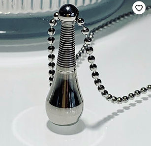 Holy Water, Holy Urn, Holy oil Necklace,