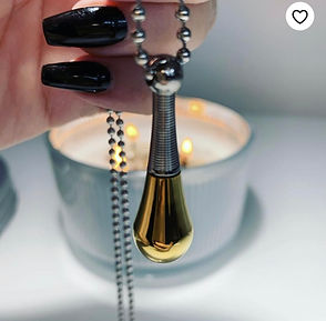 Holy Oil Necklace and Urn
