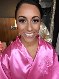 pretty Bridesmaid makeup