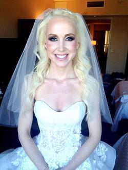 Erika the beautiful Bride!