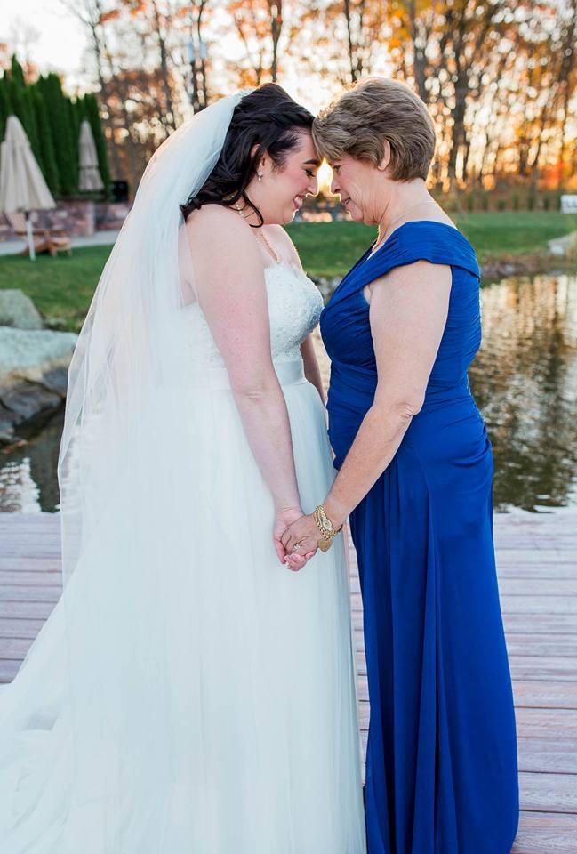 Theresa and her Mama