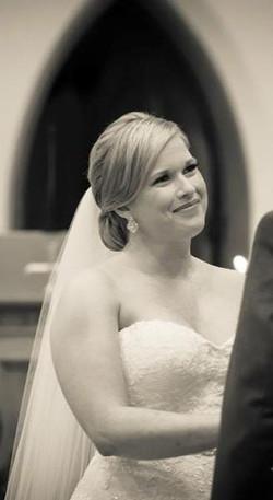 Megan the beautiful Bride