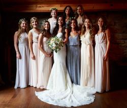 Kristina and her ladies
