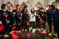 Deanna's Glitter Bridal Party
