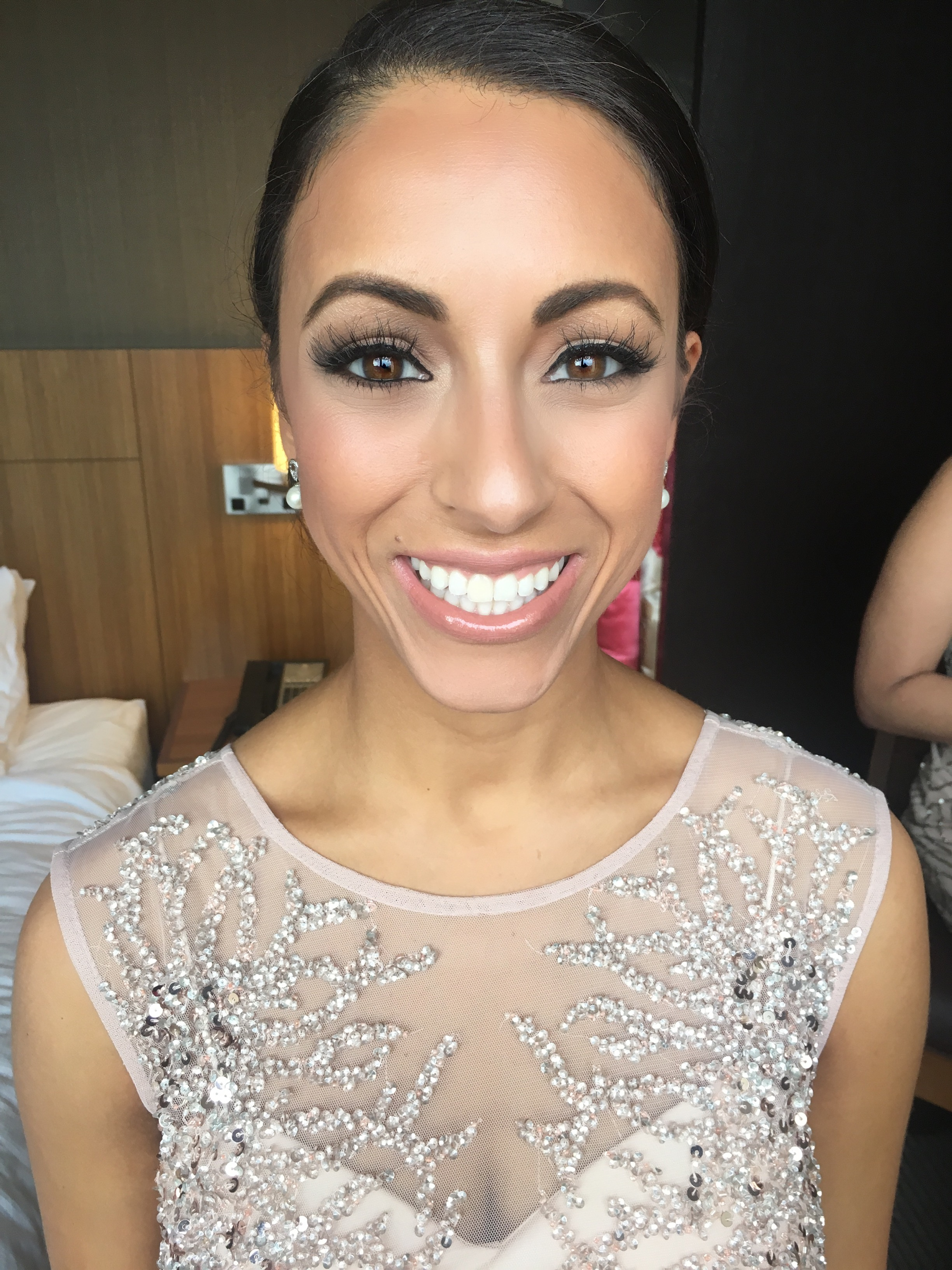 Romantic look for Bridesmaid