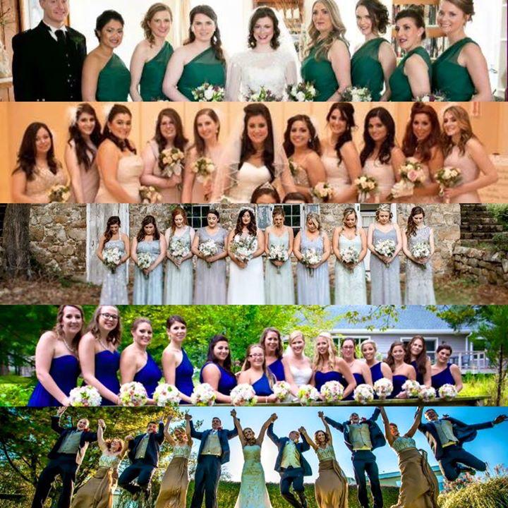 Gorgeous Bridal Parties