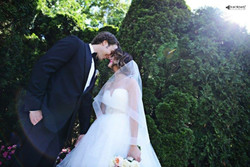 Jillian and her groom