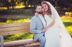 Ashli and her groom