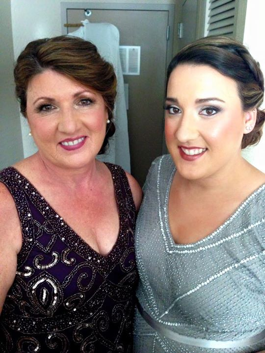 Mother and Sister of the Bride!