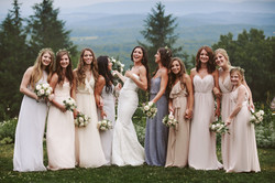 Kristina and her Bridal Party