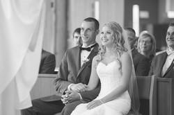 Lauren and her groom