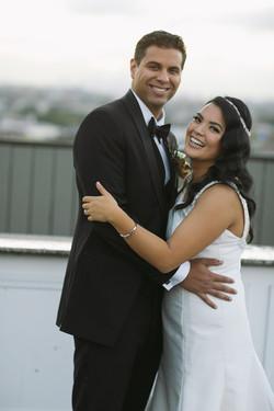 Theresa and her groom