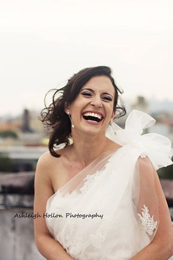 all smiles for Brooke the Bride