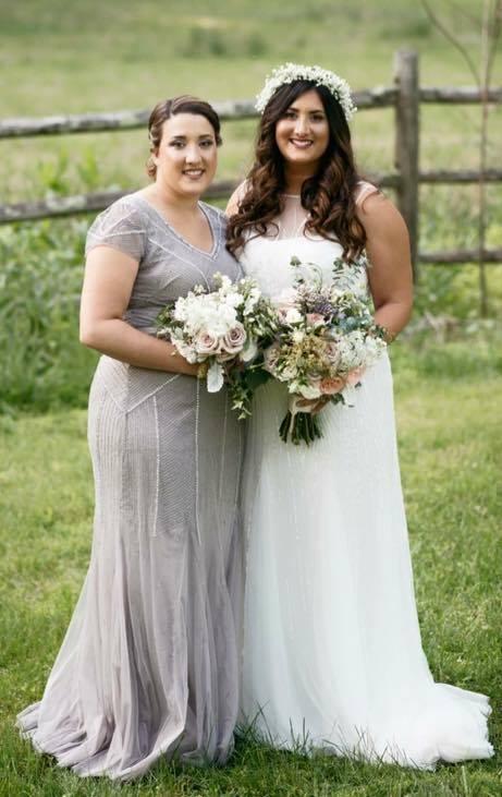 Meghan & Maid of Honor Kaitlyn