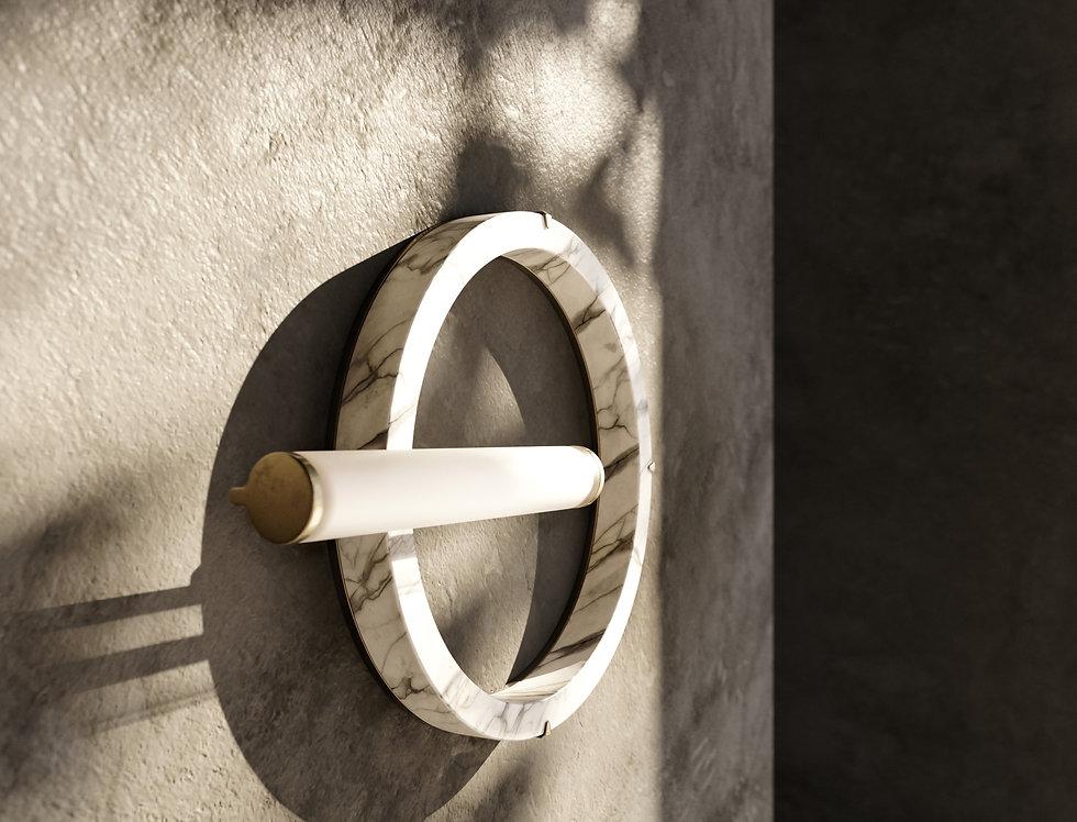 ICE/ VI- Arabescato Marble By Miminat Designs