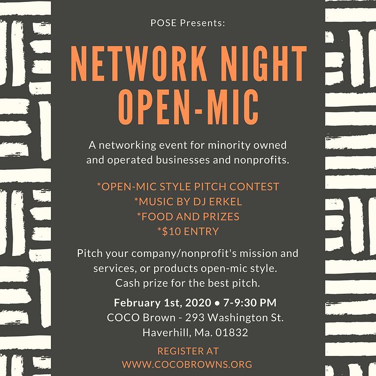 Network Night Open-Mic