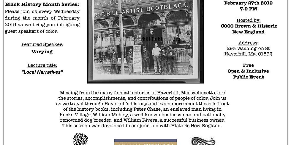 People of Color in Haverhill's History
