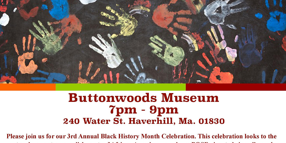 3rd Annual Black History Month Celebration