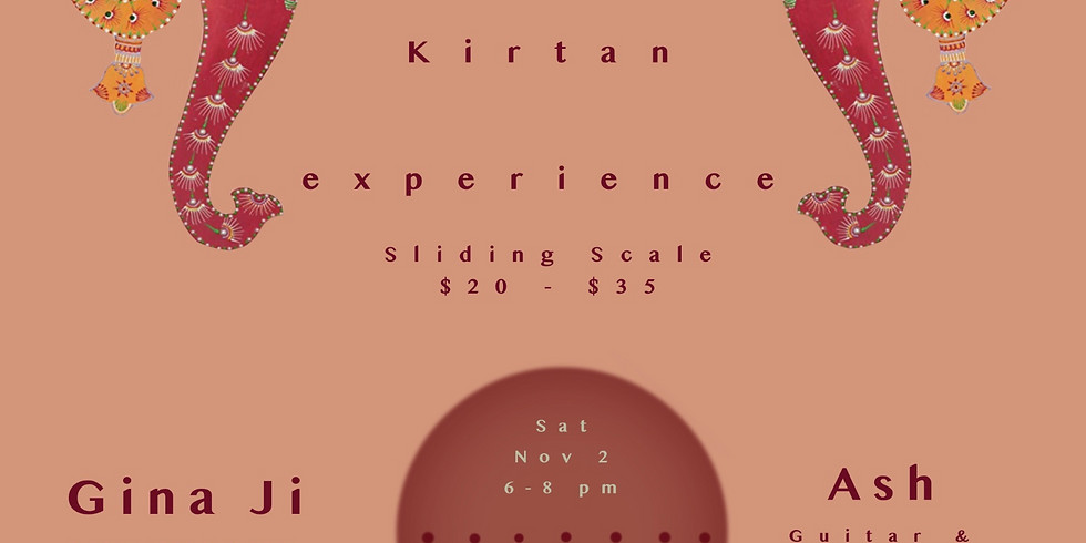 Intimate Kirtan & Gong Experience