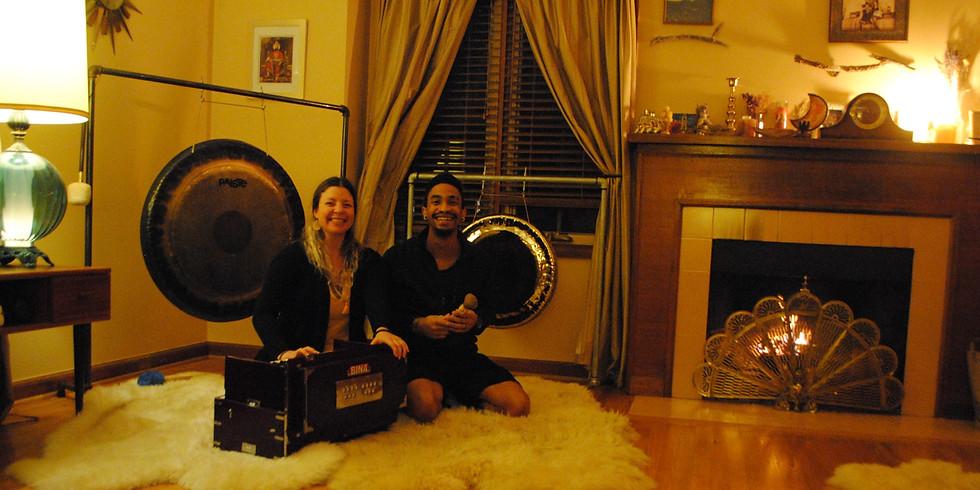 Reiki + Sound Healing wtih Gregg & Gina Ji