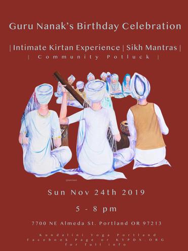 KYPDX Guru Nanak Kirtan Celebration