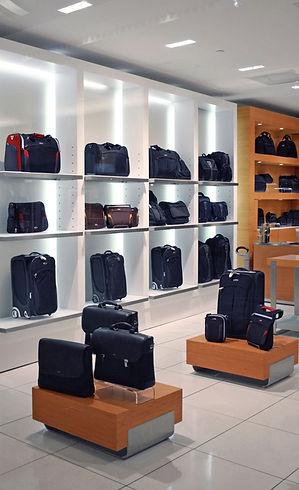 Negozio di borse e valigie