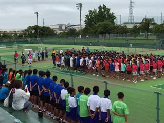 北信越中学校テニス大会団体戦
