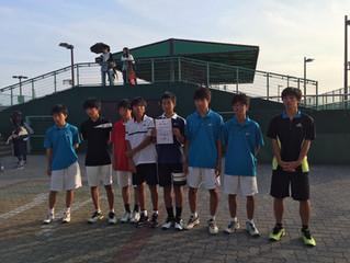 新潟県中学生テニス選手権大会 男子団体の部