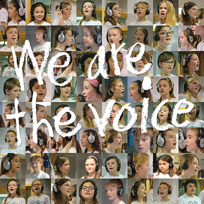 We are the voice record cover