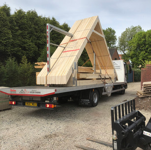 Roof delivery, Bagworth