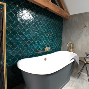 Bathroom project completed, Northamptonshire.
