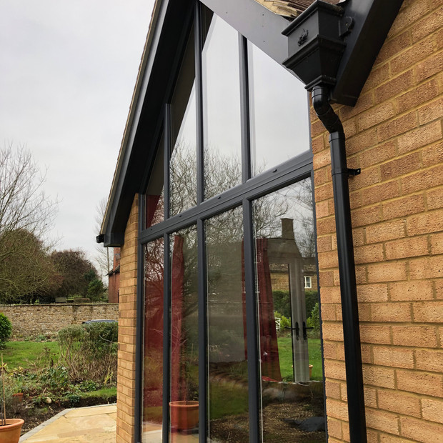 Hellidon single storey extension