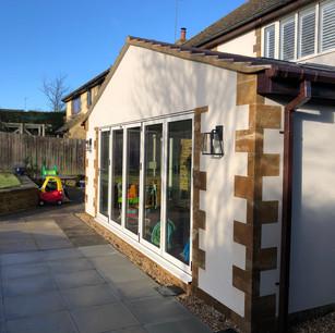 Home extension, Grimscote