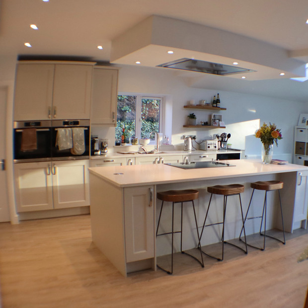 Interior kitchen extension Grimscote, Northamptonshire