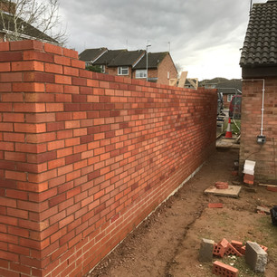 Wall building, Daventry