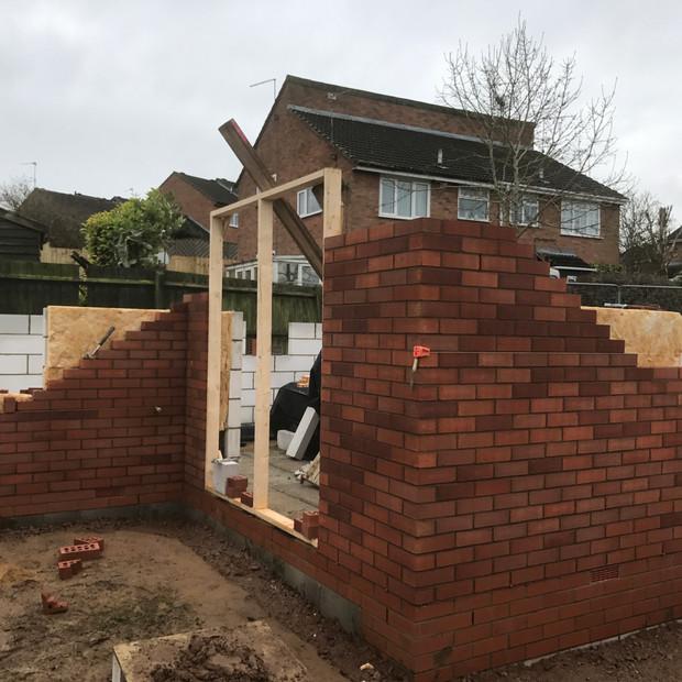 Construction in progress, Daventry