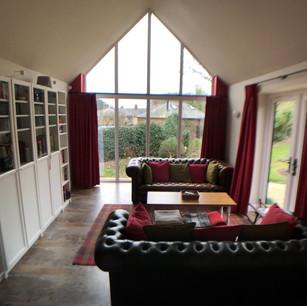 Extension sitting room Hellidon