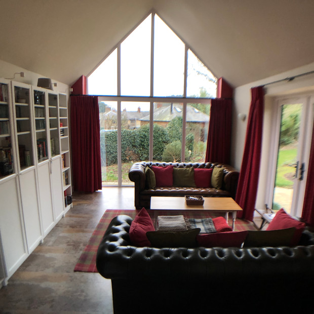 Extension sitting room Hellidon