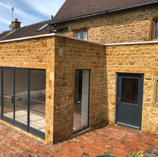 Badby, Daventry listed building extension