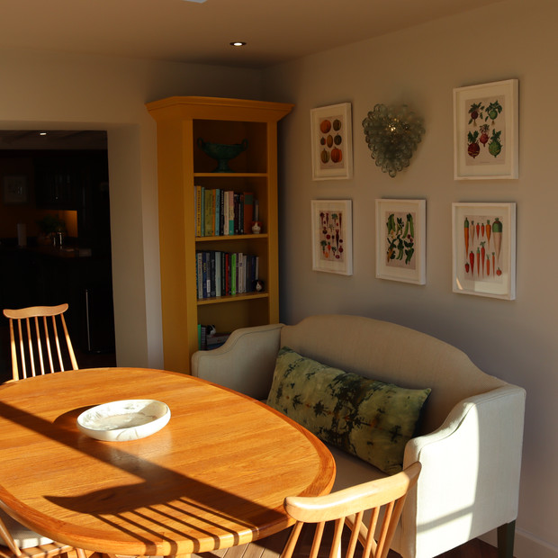 Interior extension finished.