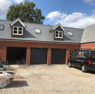 Building nearing completion in Bagworth