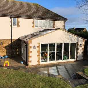 House extension, Northamptonshire