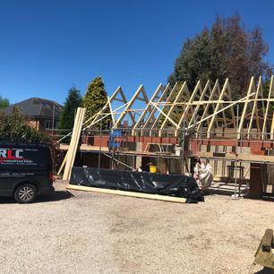 Construction, building Bagworth